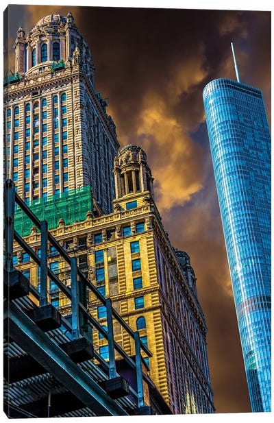 Trump Tower & Jewelers' Building Canvas Art Print