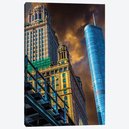 Trump Tower & Jewelers' Building Canvas Print #RKU73} by Raymond Kunst Canvas Art