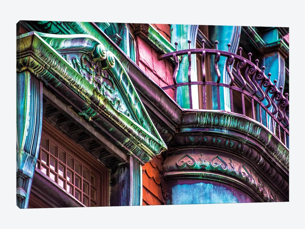 Victorian On Rush by Raymond Kunst 1-piece Canvas Print