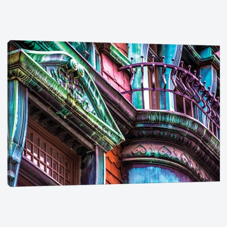 Victorian On Rush Canvas Print #RKU75} by Raymond Kunst Art Print