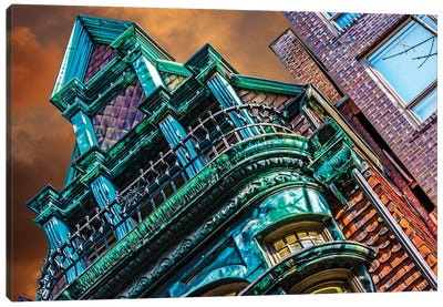 Victorian On Dearborn And Goethe Chicago Canvas Art Print