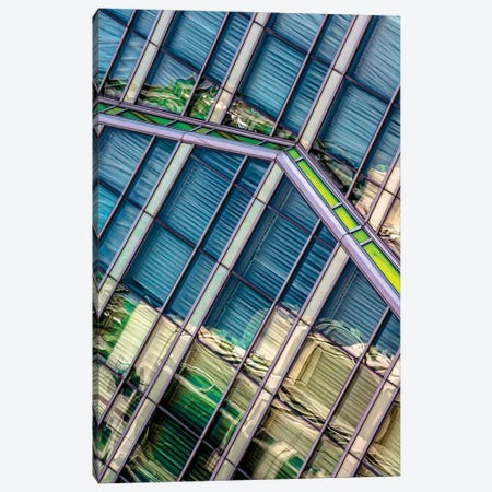 The Wit Hotel In Chicago V2 Canvas Print #RKU89} by Raymond Kunst Art Print