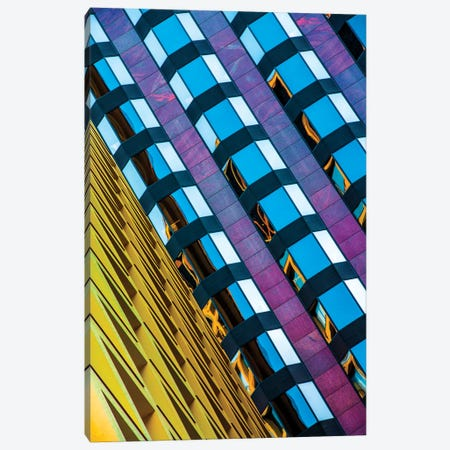 All Lined Up Canvas Print #RKU8} by Raymond Kunst Canvas Artwork