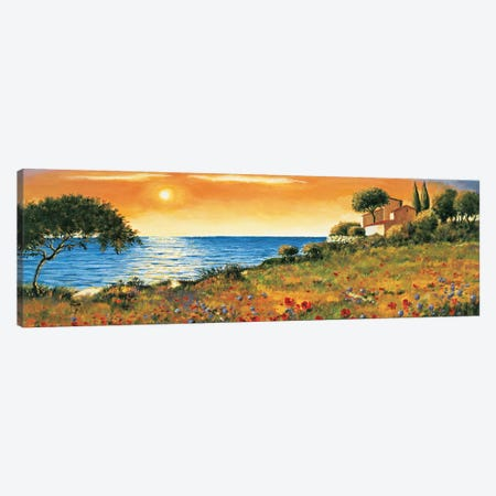 Sunlight Coast Canvas Print #RLB1} by Richard Leblanc Canvas Print