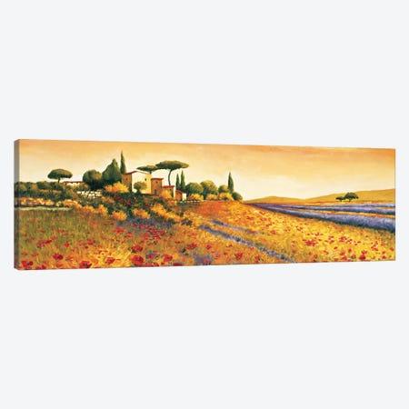 Sunlight Country Canvas Print #RLB2} by Richard Leblanc Canvas Art Print