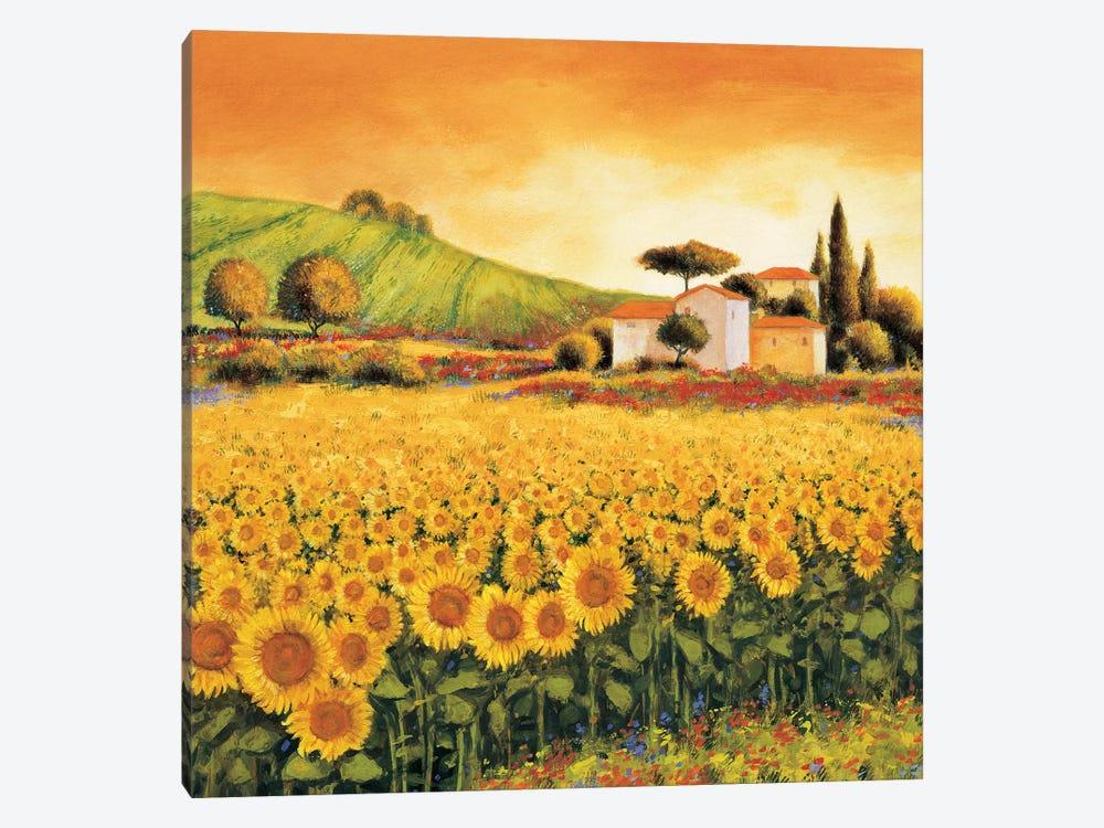 Valley of Sunflowers by Richard Leblanc 1-piece Canvas Art Print