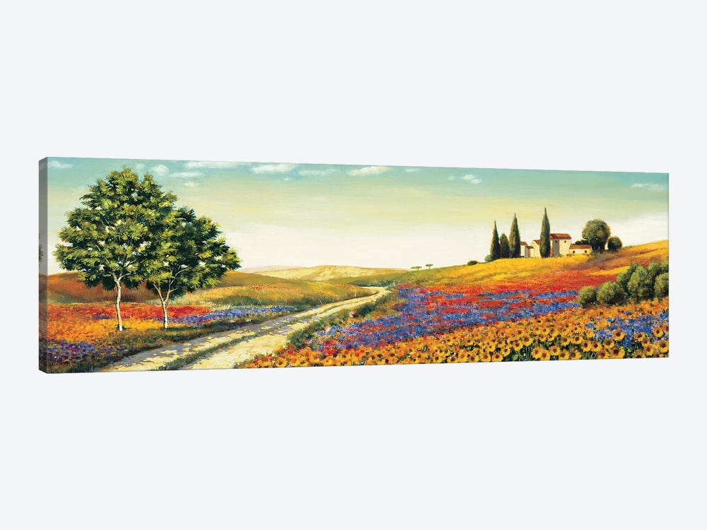 Morning in the Valley by Richard Leblanc 1-piece Canvas Print