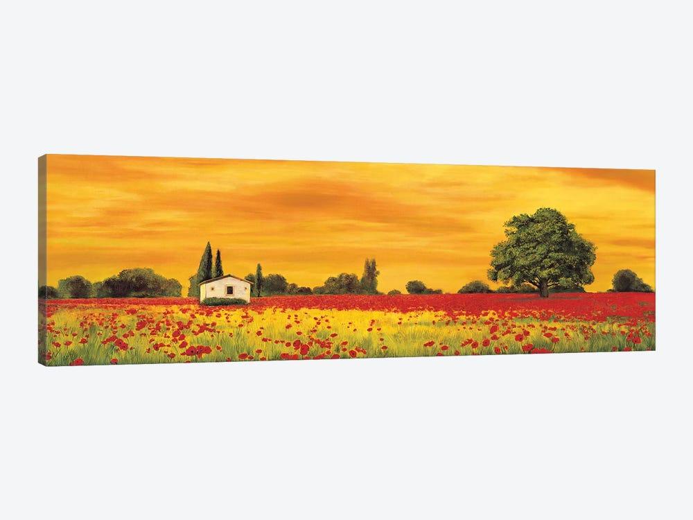 Field of Poppies by Richard Leblanc 1-piece Canvas Artwork
