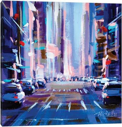 City X Canvas Art Print