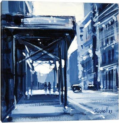 City XI Canvas Art Print