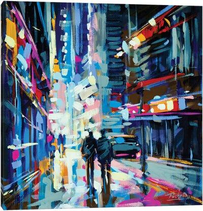 City XIII Canvas Art Print