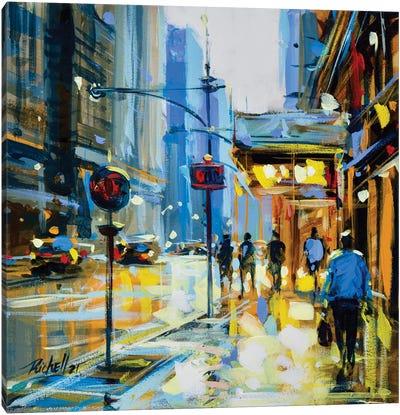 City XV Canvas Art Print