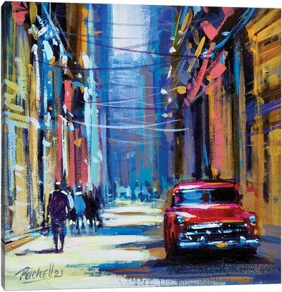City I Canvas Art Print