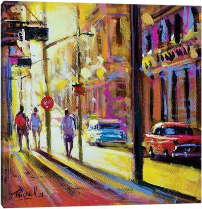 City XX Canvas Art Print