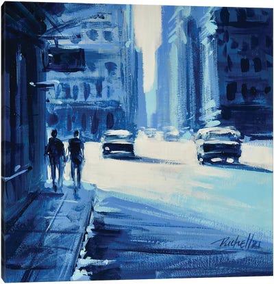 City II Canvas Art Print