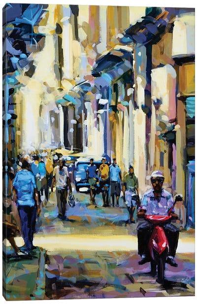 City XLII Canvas Art Print