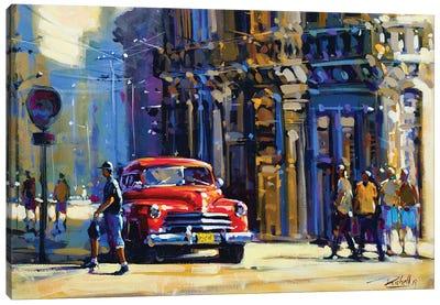 City XLIII Canvas Art Print