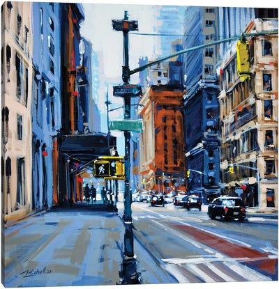 City XLVIII Canvas Art Print