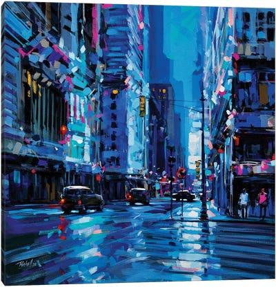 City XLIX Canvas Art Print
