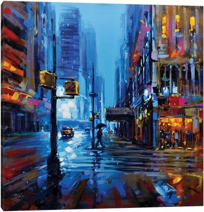 City LI Canvas Art Print