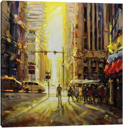 City LII Canvas Art Print