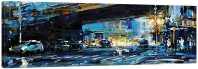 City LIV Canvas Art Print