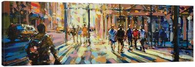 City LVI Canvas Art Print