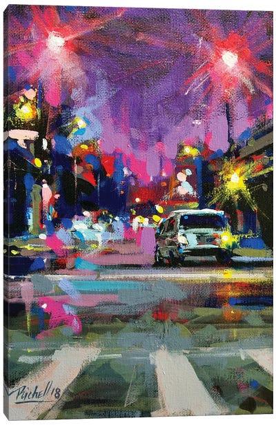 City LVII Canvas Art Print