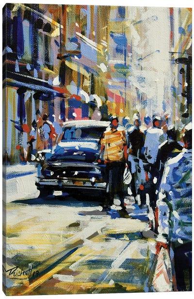 City LVIII Canvas Art Print