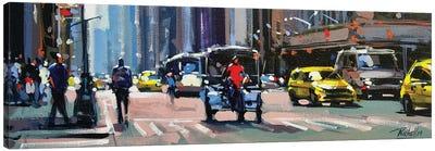 City LIX Canvas Art Print