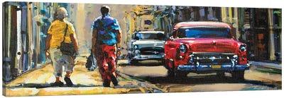 City LX Canvas Art Print