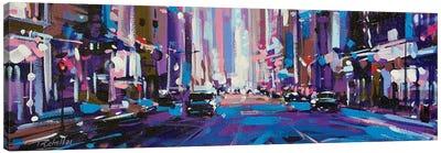City LXI Canvas Art Print