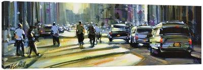City LXII Canvas Art Print