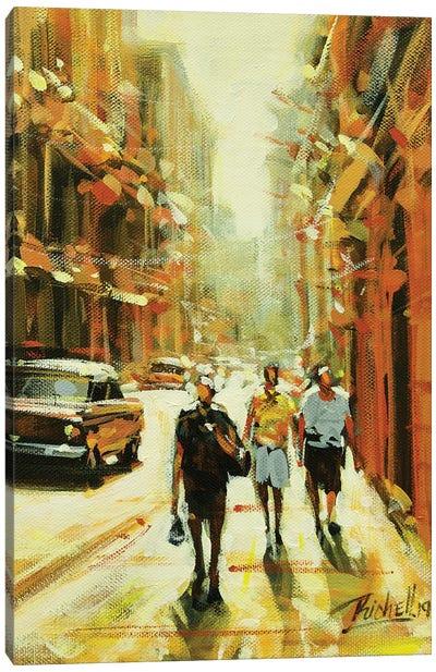 City LXIII Canvas Art Print