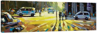 City LXIV Canvas Art Print