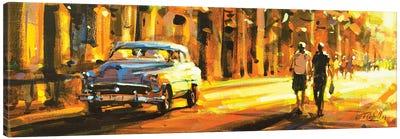 City LXV Canvas Art Print