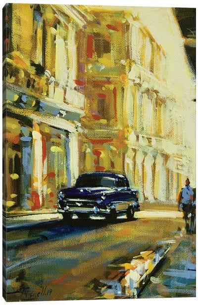 City LXVI Canvas Art Print