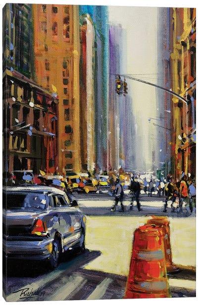 City LXVII Canvas Art Print