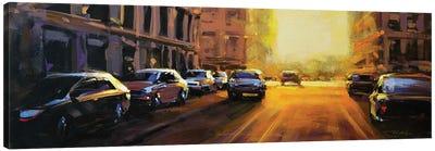 City LXIX Canvas Art Print
