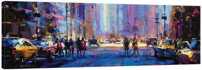 City LXX Canvas Art Print