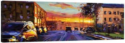 City LXXI Canvas Art Print