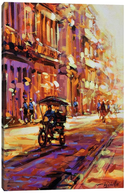 City LXXII Canvas Art Print