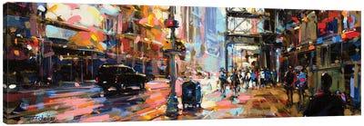 City LXXIII Canvas Art Print