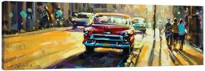City LXXV Canvas Art Print
