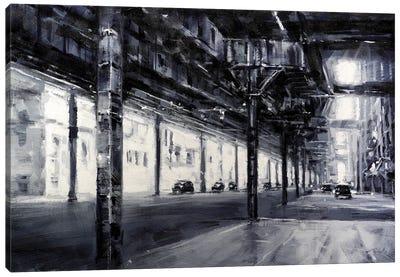 City LXXVI Canvas Art Print