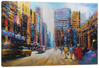 City LXXVIII Canvas Art Print