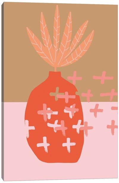 Autumn Is Leaving Illustration Canvas Art Print