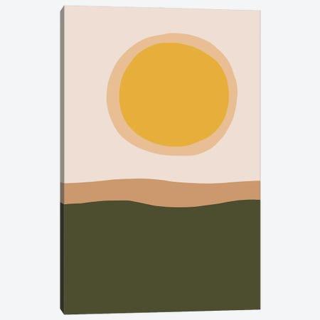 Simply Sunrise Canvas Print #RLE112} by Merle Callesen Canvas Art