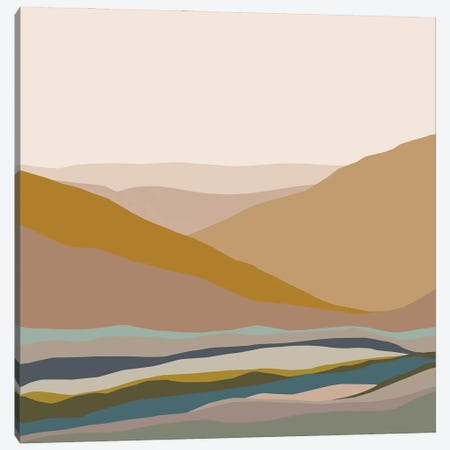 The Infinite Vastness Abstract Canvas Print #RLE124} by Merle Callesen Canvas Artwork