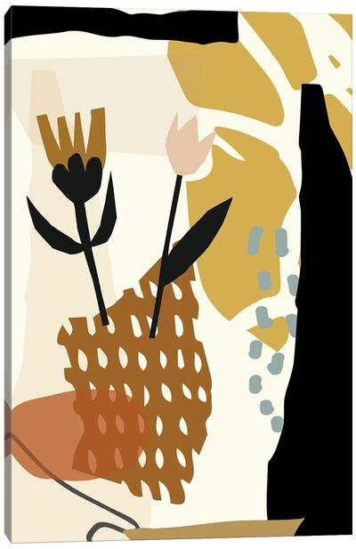 Botanical Abstracts Minimals Canvas Art Print